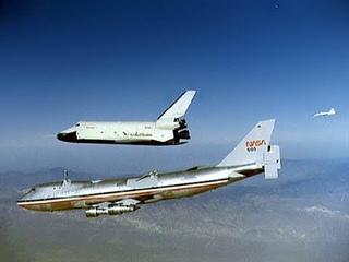 Space Shuttle Enterprise 1st Test Flight August 12 1977