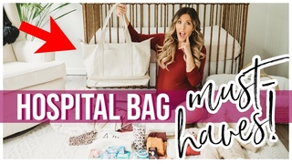 *MUST HAVES* WHAT'S IN MY HOSPITAL BAG 2020 FOR LABOR + DELIVERY! 3RD BABY HOSPITAL BAG  K