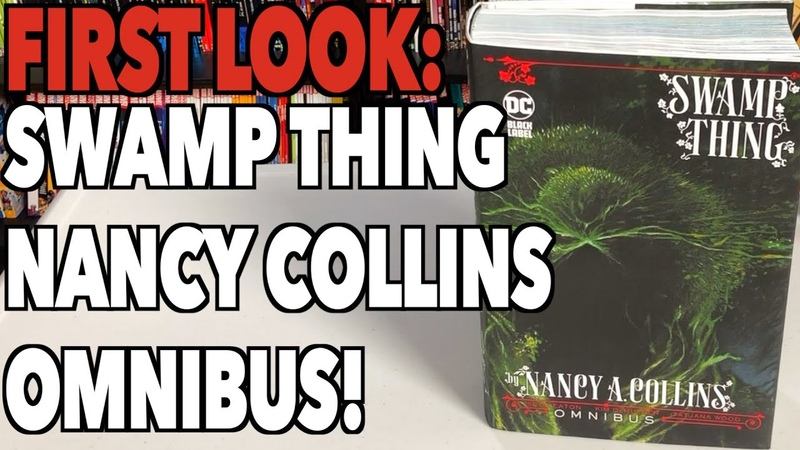 FIRST LOOK Swamp Thing By Nancy A Collins Omnibus