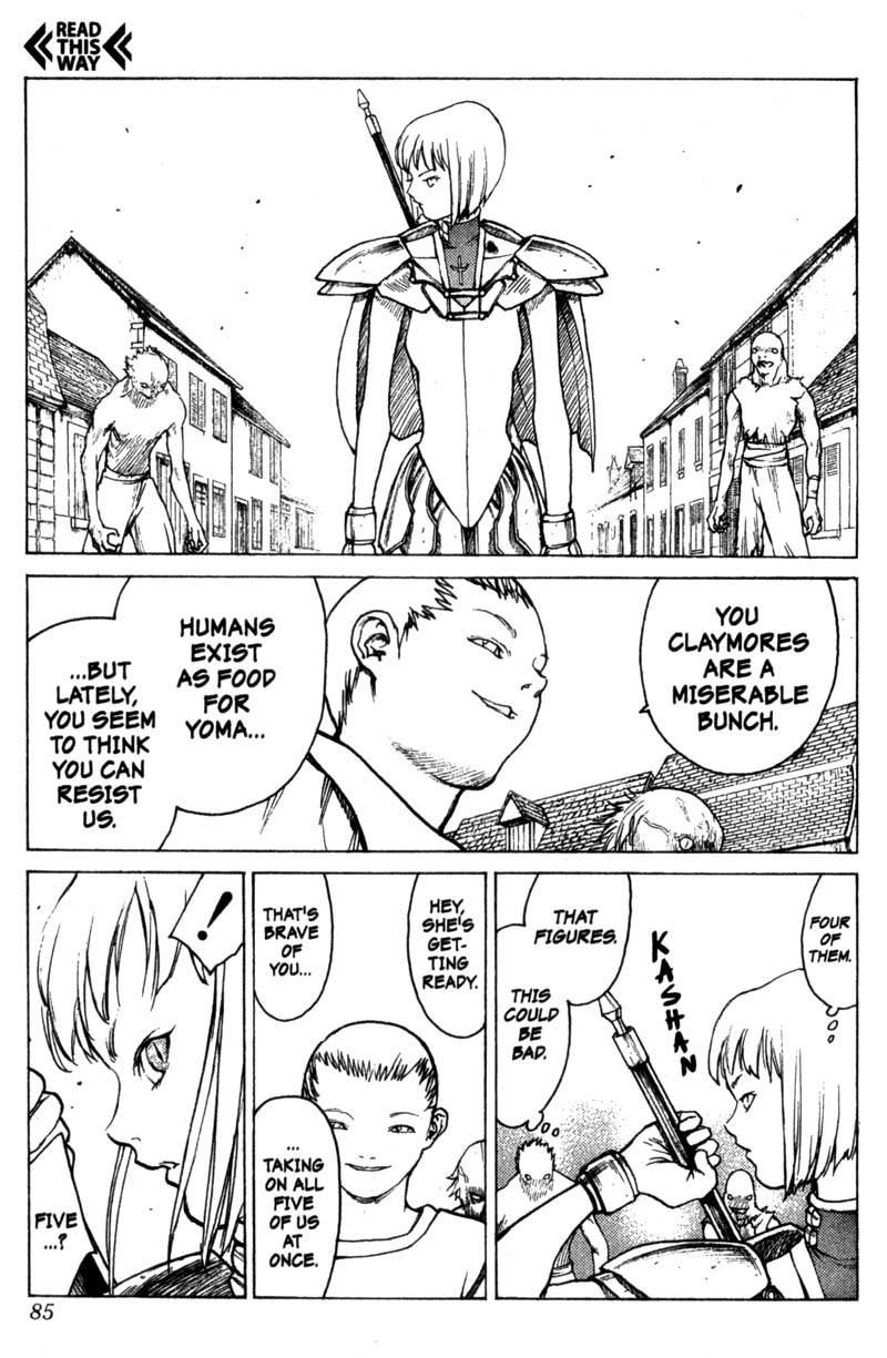 Claymore, Chapter 2, image #16