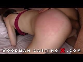 Angel Rush кастинг вудмана шлюху вытрахали в анал минет порно