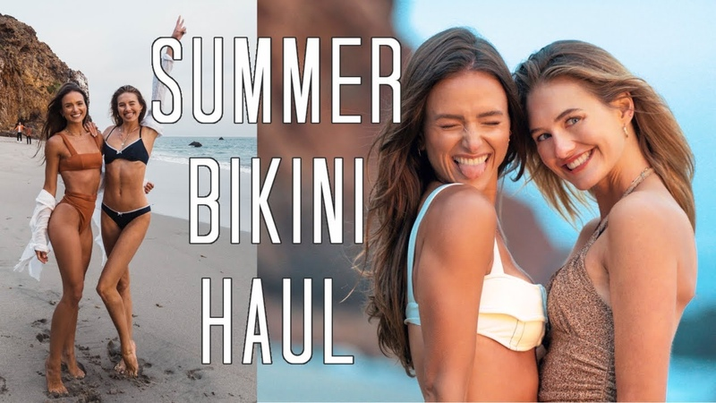 Summer Model Bikini Haul Affordable Luxury Swim Favorites Sanne Vloet