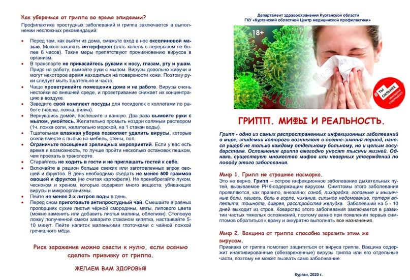 Памятка по гриппу, изображение №4