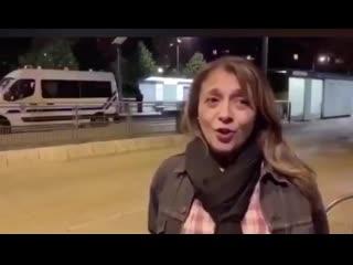 Quand Gwendoline, Pom Pom girl macroniste en chef, nous dit qu'il n'y a pas eu d'émeutes à Villeneuve la garenne