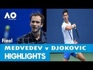 Novak Djokovic vs Daniil Medvedev Full Match Highlights -Final | Australian Open 2021