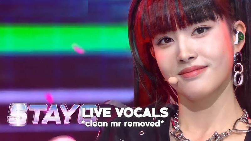 [CLEAN MR Removed |엠알 제거] 201127 SO BAD - STAYC (스테이씨) 消音 (Live Vocals) @Music Bank