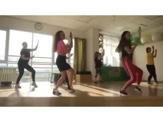 Танцы. Набор. Dancehall, hip-hop. Чайковский.
