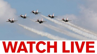 Blue Angels, Thunderbirds fly over NYC, NJ