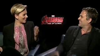 When were you born ? Me too ! Scarlett Johansson + Mark Ruffalo birthday thing