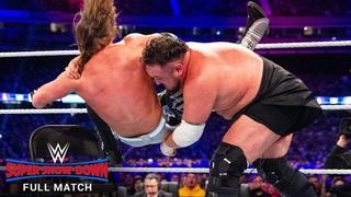 FULL MATCH - AJ Styles vs. Samoa Joe - WWE Title Match: WWE Super Show-Down 2018