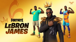 The King Has Arrived: LeBron James Joins Fortnite's Icon Series