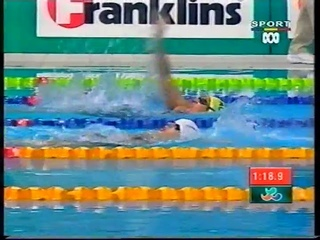 Sydney 2000 Paralympic Games - Womens SM8 200m Individual Medley Final