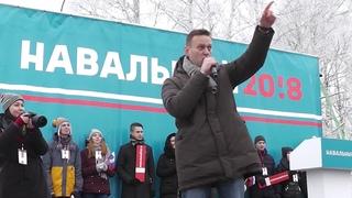 Навальный во Владимире