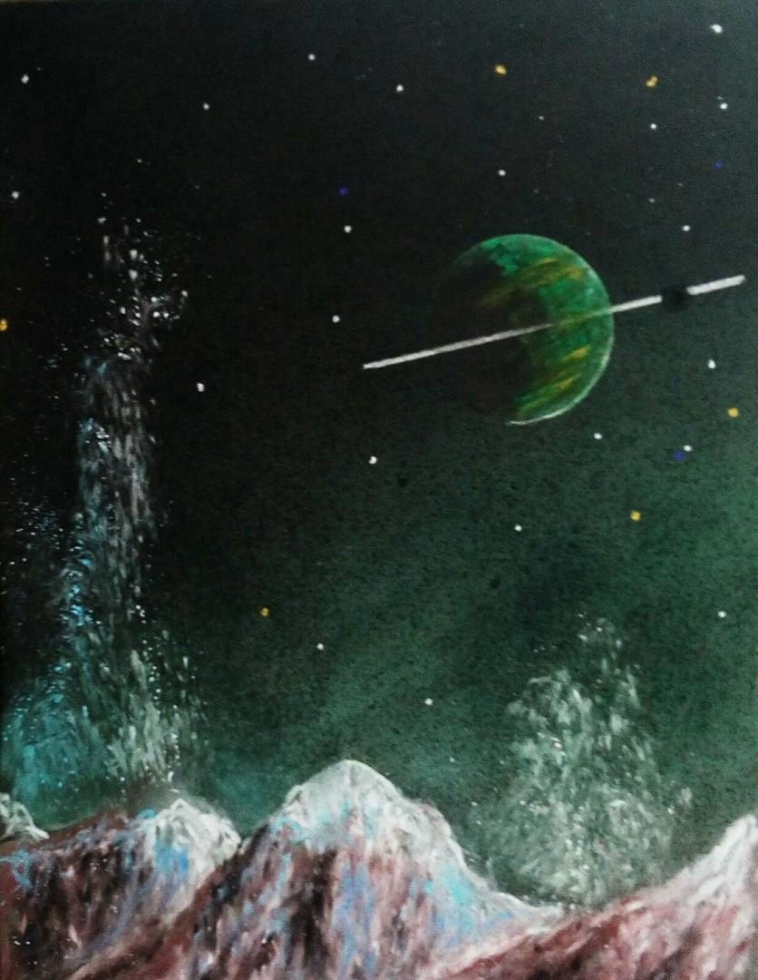 В Зелёной Галактике