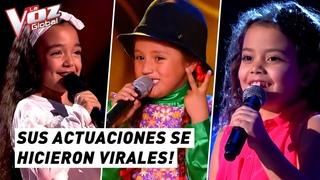 Sus actuaciones se conviertieron en las más vistas de La Voz Kids | Voces Latinas #6
