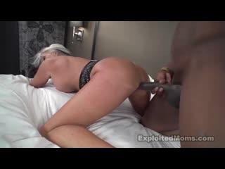 Exploited Moms - Sally D'Angelo (64yr) [Big Tits, Black, Blowjob, Cumshot, Facial, Interracial, Mature, MILF, Sex, Зрелые]