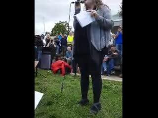 Professor Dolores Cahill PhD FULL SPEECH at SAVING SCOTLAND Protest in Edinburgh