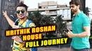 Hrithik Roshan s House In Juhu Mumbai PRIME BEACH Full Journey Bollywood Ka Super Hero