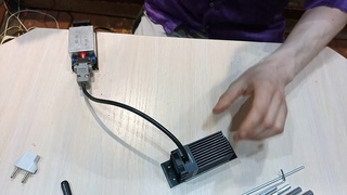 Разбираем лазерный модуль 532nm с TEC (вроде 500mw