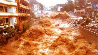 Heavy rains and flash flood in Belo Horizonte, Brazil / Chuva forte e alagamento em Contagem BH hoje