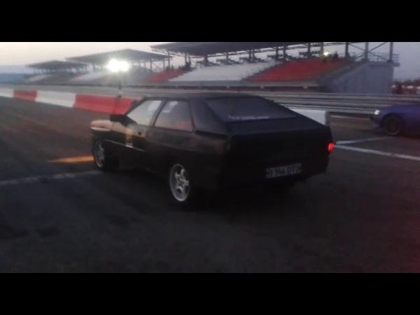 Audi cupe v8 start 2 gear