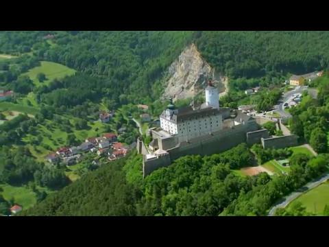 Das Burgenland von oben