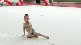 Хамзина Элина 2014 г.р. Нурлат, турнир в Азнакаево