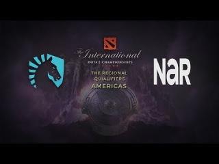 Liquid -vs- NAR, TI4 NA Qualifier, Grand Final, Game 1