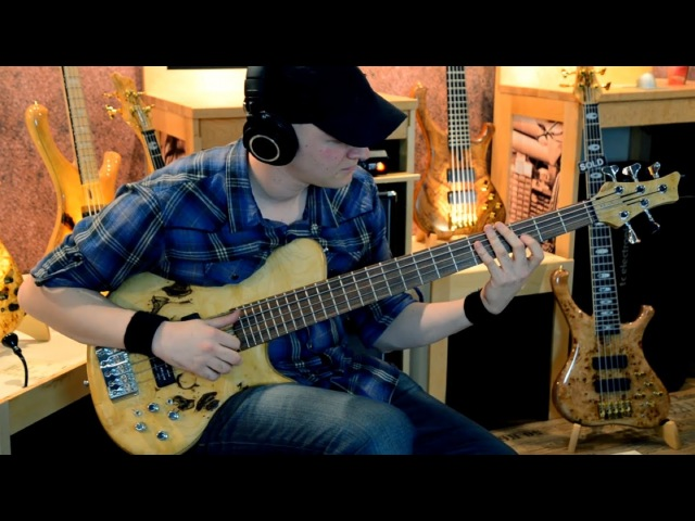 MARLEAUX MBASS 2012 BASS DEMO Or Lubianiker