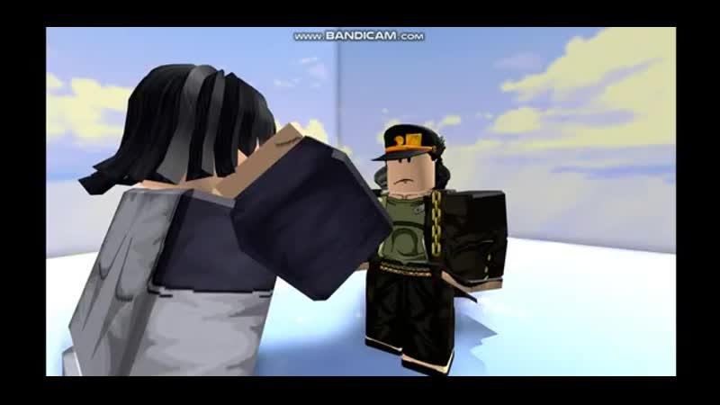 Jotaro vs Steely Dan Джотаро против Стального Дэна в jojo poses simulator