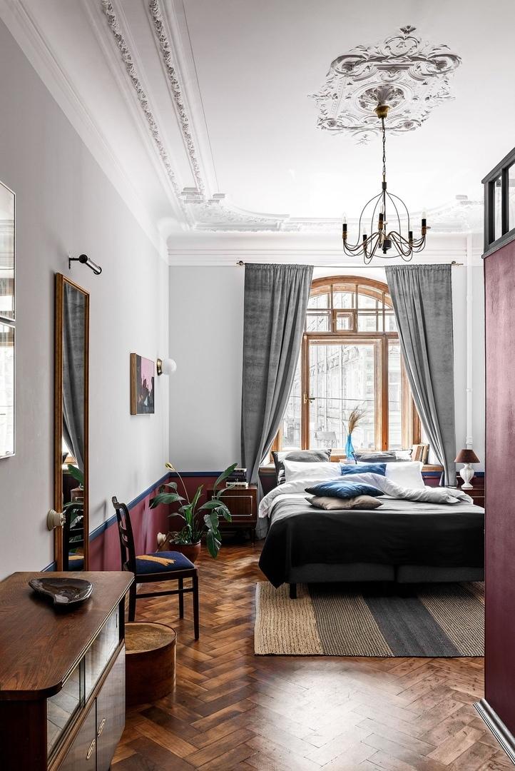Бережно отреставрированные апартаменты Sands Rooms в доме 1911 года по проекту NOMESSPROCESS    01
