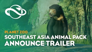 Planet Zoo: Southeast Asia Animal Pack   Announcement Trailer