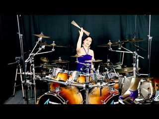 Stratovarius - Father Time drum cover by Ami Kim (133)