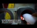 Формовка опоки и вакуумное литьё серебра Часть 2