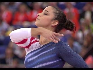 Alexandra Raisman (USA) - Events Final Floor London 2012