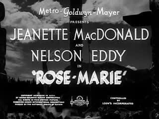 Роз Мари / Rose-Marie 1936