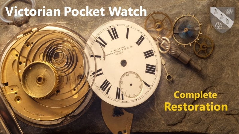 Restoration of an 1890s English Pocket Watch