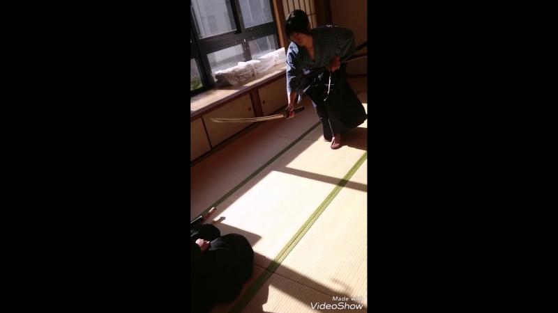 Kobudo-Tenshin ryu Hyoho 抜刀
