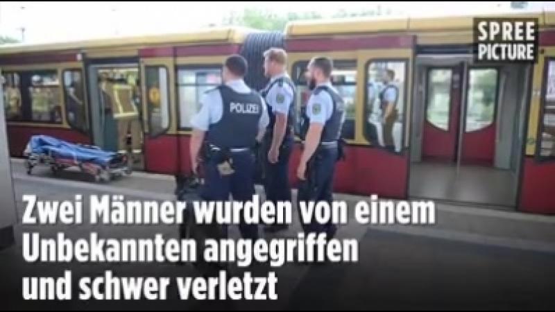 S Bahnhof Greifswalder Straße: Zwei Schwerverletzte nach Messerattacke