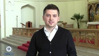 Интервью с Дмитрием Петровым, принявшем Св. Крещение в Кафедральном Соборе свв. Петра и Павла.