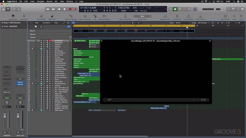 Groove3 Sound Design for TV Film and Games