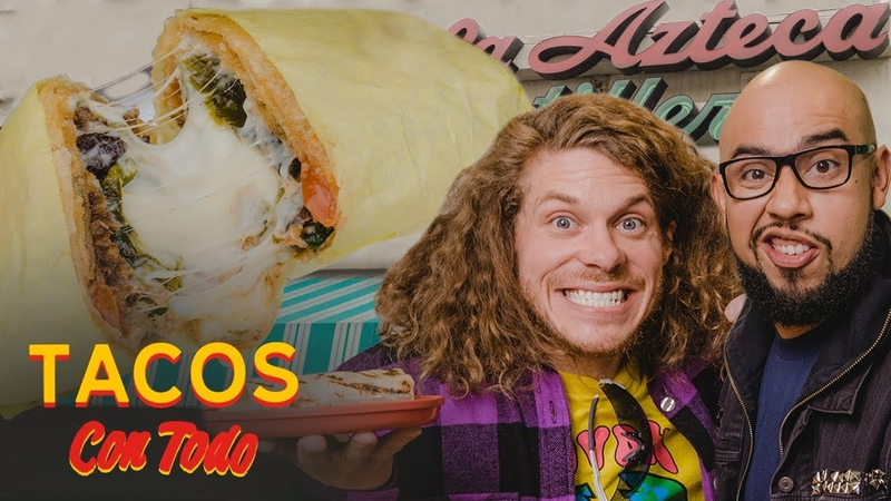The Quest for the Ultimate Burrito with Workaholics' Blake Anderson Tacos Con Todo