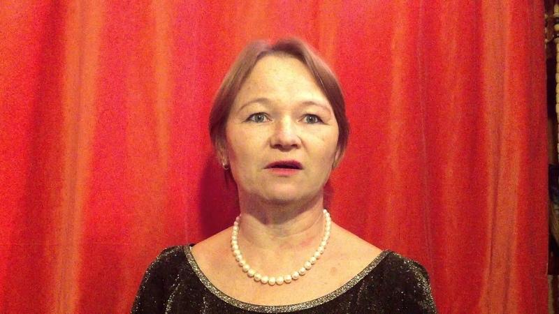 Елена Красоткина исполняет балладу Морица Хартманна Белое покрывало