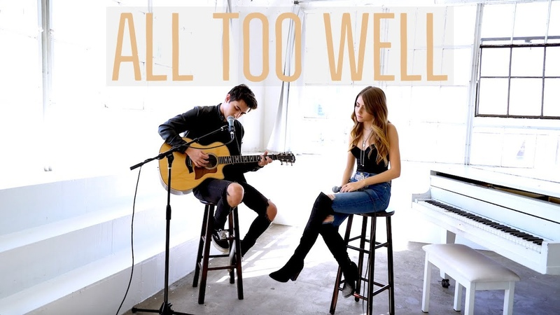 All Too Well by Taylor Swift cover by Jada Facer ft Kyson Facer