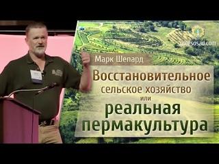 Восстановительное сельское хозяйство или реальная пермакультура! Марк Шепард.