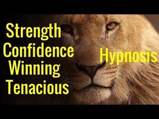 Hypnosis: Confidence, Tenacious,  Winning Mindset,  the Lion, the Champion Mind Programming