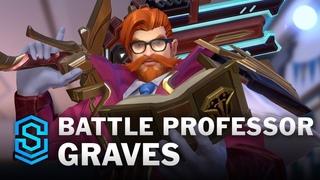 Battle Professor Graves Wild Rift Skin Spotlight