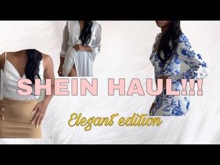 SHEIN Try On Haul‼️   Elegant  Tall Girl 2020
