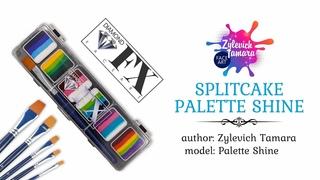 Review of the Splitcake Palette SHINE Diamond FX.
