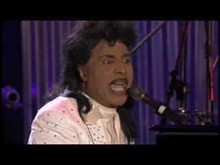 """Little Richard performs """"Tutti Frutti"""" at the Concert for the Rock  Roll Hall of Fame"""